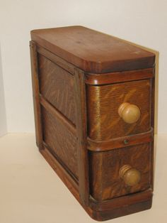 Vintage Sewing Machine Drawers