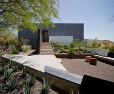 Dialogue House by Wendell Burnette Architects
