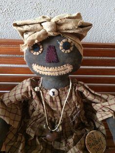 Primitive Belindy Rag Doll