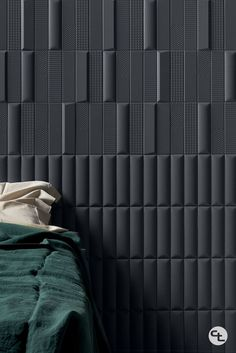 Ravenna 3D Essentials is a one-of-a-kind wall tile; available in 4 colors and 6 three-dimensional surfaces. Explore light and shadow to create truly unique spaces. 3d Wall Tiles, Ravenna, Light And Shadow, Three Dimensional, Essentials, Spaces, Explore, Create, Colors