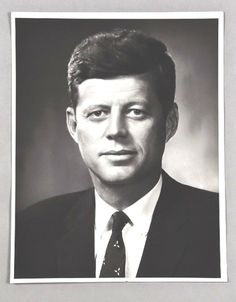 """John Fitzgerald Kennedy (May 29, 1917 – November 22, 1963), commonly known as """"Jack"""" or by his initials JFK, was the 35th President of the United States, serving from January 1961 until he was assassinated in November 1963.❤❤❤❤❤  http://en.wikipedia.org/wiki/John_F._Kennedy"""