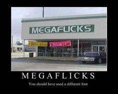 Best font choice ever?. repost but still funny.. You should font