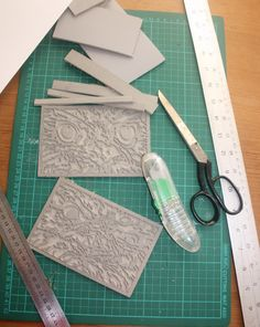 Preparing Linocut Blocks for Printing 1