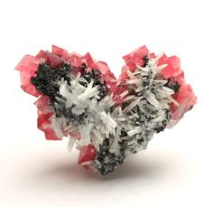 Rhodochrosite with Quartz / Sweet Home Mine, Colorado