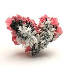 Rhodochrosite with Quartz / Colorado