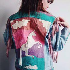 1fc4a97eef7 Ragged Priest customised Levi denim jacket. Real suede and pony skin  detail. Worn 2. Depop