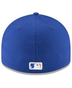 New Era Kansas City Royals Diamond Era Spring Training Low Profile 59FIFTY Fitted Cap - Blue 7 1/2