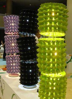 egg carton lanterns