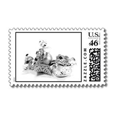 Silver Christmas Postage for you at www.zazzle.com/superdumb #zazzle #christmas #xmas