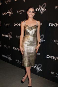 Emmy Rossum attending the DKNY 25 Birthday Bash in New York - Sept 9, 2013 - Photo: Runway Manhattan