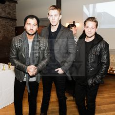 Steven Taylor, Shelby White & Shawn Pyfrom at NYLON Guys Magazine + ASOS Event in New York City