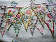 napkin garlands
