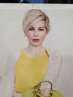 Blonde Michelle Williams