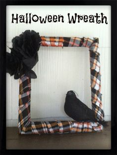 Confessions of an ADD Housewife: Yet Another Halloween Wreath