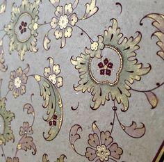 Şeyma Okur Illumination Art, Arabesque Pattern, Persian Pattern, Hand Work Embroidery, Turkish Art, Islamic Art Calligraphy, Stencil Designs, Mandala Art, Traditional Art