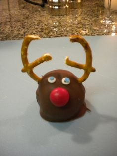 Reindeer Oreo Balls - image only- go to board baking and sweet things for directions and ingred.