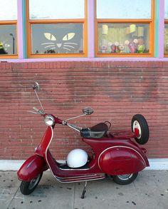 Red Vespa | Flickr - Photo Sharing!