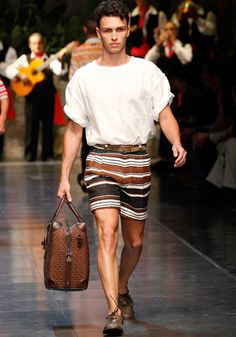 Dolce & Gabbana Collection Men Fashion Show Spring Summer 2013