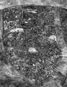 Japanese photographer Sohei Nishino created these wonderful pieces of art by actually using individual pictures of landmarks and locations to map out the city. The Diorama Maps are made from Nishino's experience of traveling around a city. He sketches a rough outline of the city's layout and then cuts up pictures and glues them into a map. It's not going to be completely accurate but you can definitely see the shape and more importantly the soul of the city come to life with his maps.