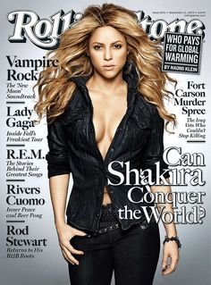 Shakira poster on sale at theposterdepot. com. Poster sizes for all occasions. Shakira Poster Rolling Stone Cover in for sale. The Rolling Stones, V Magazine, Magazine Covers, Magazine Articles, Vanity Fair, Marie Claire, Metallica, Dr Hook, Rolling Stone Magazine Cover