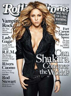 Shakira in Rolling Stone Magazine November 2009
