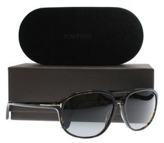 e6748c630ba5 New 100% Authentic Tom Ford Sunglasses Men TF 447 Tortoise 52B Jacob 60mm