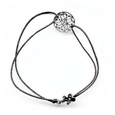 Gag Purified Delicate Lace Bracelet silver ($55) ❤ liked on Polyvore