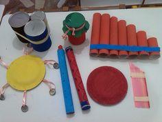 Νηπιαγωγείο, το πρώτο μου σχολείο: Αυτοσχέδια μουσικά όργανα