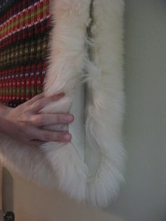 A fellow weaver posted a question to the national Scanweave email list this week, asking for guidance on attaching a textile to a sheepskin backing. I can help a bit, since I took a class in makin…