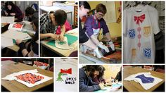 Screen Printing workshop at Paxton House with tutor Grace Smith of GraceInk Designs