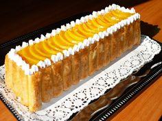 Prajitura cu iaurt si piersici Entremet Recipe, Romanian Food, Romanian Recipes, Diy And Crafts, Cheesecake, Deserts, Goodies, Food And Drink, Sweets