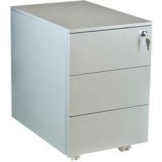caisson de bureau caisson a roulettes 3 tiroirs kalisto ideal pour le rangement