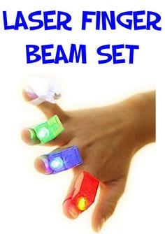 Laser Finger Beam Set: $0.89 + FREE Shipping!! #kids