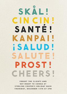 8c7b689d010a Cheers Language - Cream · Lunch InvitationCocktail ...