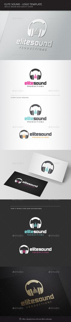 Elite Sound Logo #music producer #music store #musical melody • Available here → http://graphicriver.net/item/elite-sound-logo/1410050?s_rank=124&ref=pxcr