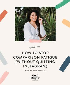 When Instagram can serve as a battle ground of comparison, fighting an inner battle with ourselves to have and do whatever we see in the perfect images on our phone screen, Arielle speaks to how we can find motivation — not comparison — on this little app. We're shifting the comparison mindset once and for all. Tune in to hear how to stop comparison fatigue (without having to quit Instagram entirely). Business Entrepreneur, Business Tips, Online Business, Entrepreneur Ideas, Content Marketing, Social Media Marketing, Online Marketing, Instagram Tips, Starting A Business