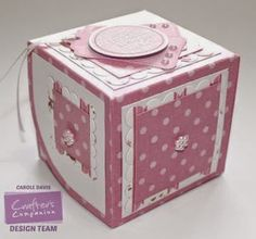 Cupcake Templates - Single Cupcake Presentation Box - Cupcake Templates CD Video Tutorial; Sweet Treats Tags 1 - Sweet Treats CD Sentiments 4 - A3 Sweet Treats Card - A3 Centura Pearl Double Sided -  Collall 3D Decoupage, Tacky Glues - Crafter's Companion Red Liner Tape - Die'sire Daisy Wrapper, Cupcake Insert, Essentials Circles, Essentials Squares/Scallop Squares