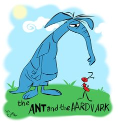 The Ant and the Aardvark  LOVED this cartoon when I was a kid.