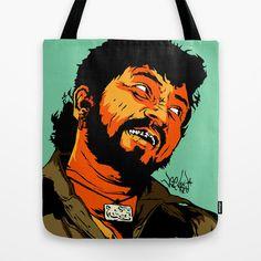 GABBAR Tote Bag by Vee Ladwa - $22.00