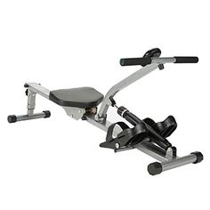 Folding Rowing Machines, Fitness Equipment Adjustable 12 Hydraulic Resistance, Double Track, Max User Weight 150 Kg, Safety Tested ★SIMULATED ROWING MACHINE:The home fitn... Rowing Machines, Workout Machines, Fitness Equipment, No Equipment Workout, Indoor Rowing, Electric Mountain Bike, Fitness Wear, At Home Gym, At Home Workouts