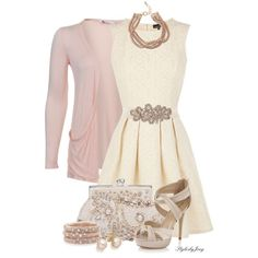 """""""Lacy Daisy"""" by stylesbyjoey on Polyvore"""