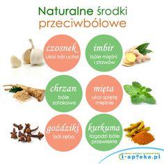 Naturalne środki przeciwbólowe www.i-apteka.pl