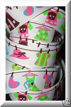 7/8 DIVA FASHION GIRL CLOTHES GROSGRAIN $1/yrd