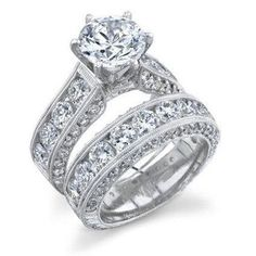 Item Type: Rings Fine or Fashion: Fashion Surface Width: 3mm,6mm Rings Type: Bridal Sets Style: Classic Gender: Women Setting Type: Prong Setting Material: Cubic Zirconia Occasion: Wedding Metals Type