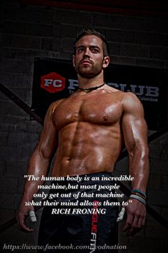 A great qoute from Rich Froning