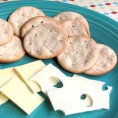 Faux Crackers and Cheese