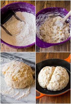 Sally's Baking Addiction | Grandma's Irish Soda Bread Recipe with step-by-step photos