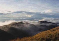 Mount Pulag, Benguet, Philippines Climb/ Tour/ Trek Packages with or w/o transfers from Manila. Mt Pulag, Mount Pinatubo, Philippines Destinations, Taal Volcano, Mountain Hiking, Travel Information, Manila, Trek, Climbing