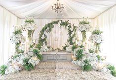 Done  Pelamin Sanding Farah  #Taman Serkam  #dais #pelamin #pelamindewan #pelamincanopy #weddingday #weddinginspiration #instalike #karangkraf #nstp #bluinc #pesonapengantin #ratusehari #pengantin #mahligaicinta #raikancinta #jomkahwin #kerjakahwin #bridal #malaywedding #melaka #muar  tel: 0172307217        Wedding Day Weddings Planner Plan Planning Your Big Day Wedding Backdrop Design, Wedding Hall Decorations, Wedding Reception Backdrop, Engagement Decorations, Wedding Mandap, Wedding Ceremony, Pelamin Simple, Muslimah Wedding Dress, Malay Wedding