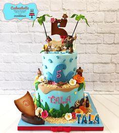 Moana cake - cake by Cakeaholic22